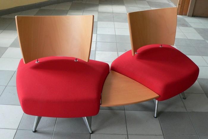 Flammkaschierte Stühle